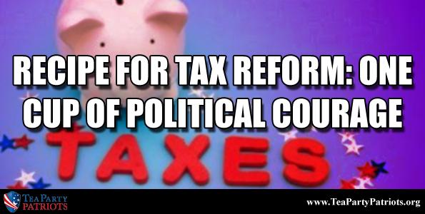 Recipe for Tax Reform Thumb