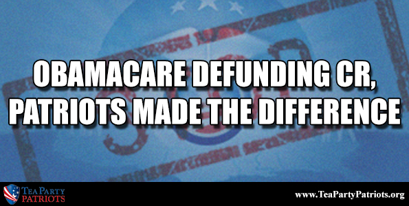 Obamacare Defunding CR Thumb